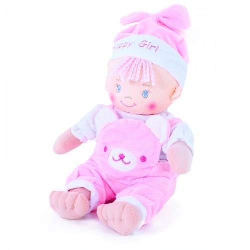 Bábika handrová 25 cm mimi ružová e-obal