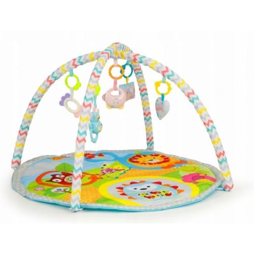 Eco Toys Vzdelávacie hracia podložka Ježek