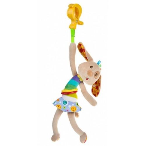Akuku Plyšová hračka s vibrácií a klipom - Psík