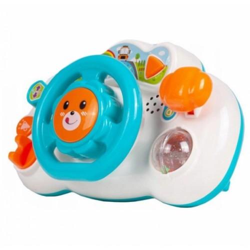 Tulimi Interaktívna hračka - Volant, Lev - modrý