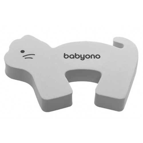 BabyOno Blokáda dverí - mačka sivá