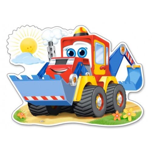 Castorland Puzzle Funny Digger - 12 dielikov