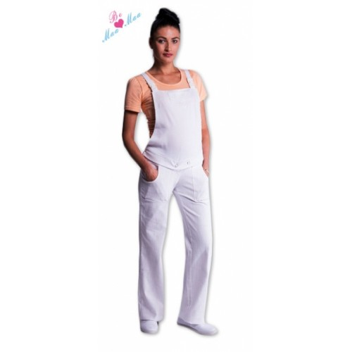 Be MaaMaa Traky - záhradníkov biele - XL (42)