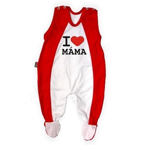 DEJNA Dupačky Kolekcia - I love Mama - 0/3měsíců