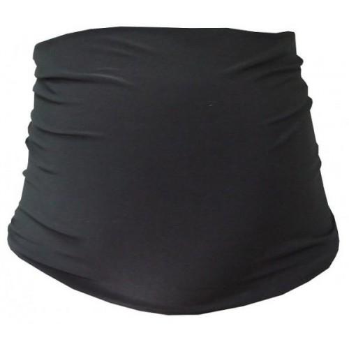Be MaaMaa Tehotenský pás - čierna