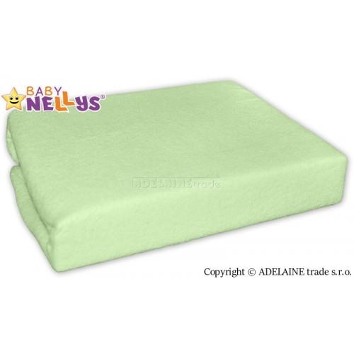 Nepremokavé prestieradlo Baby Nellys ® - Zelená - 120x60
