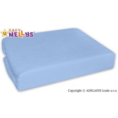 Nepremokavé prestieradlo Baby Nellys ® - Sv. Modrá - 120x60