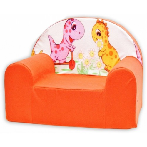 Detské kresielko / pohovečka Nellys ® - Dino