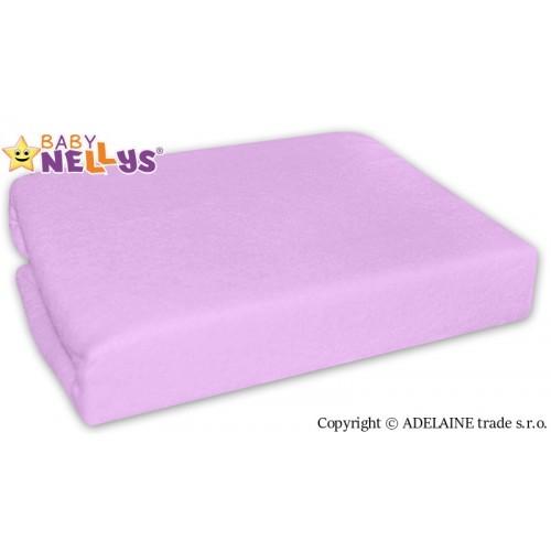 Nepremokavé prestieradlo Baby Nellys ® - Fialové - 120x60