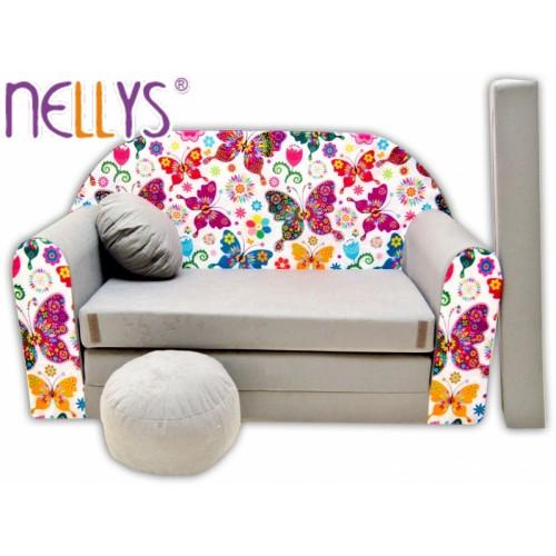 Rozkladacia detská pohovka Nellys ® 63R