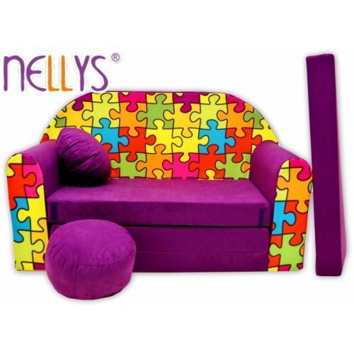Rozkladacia detská pohovka Nellys ® 68R