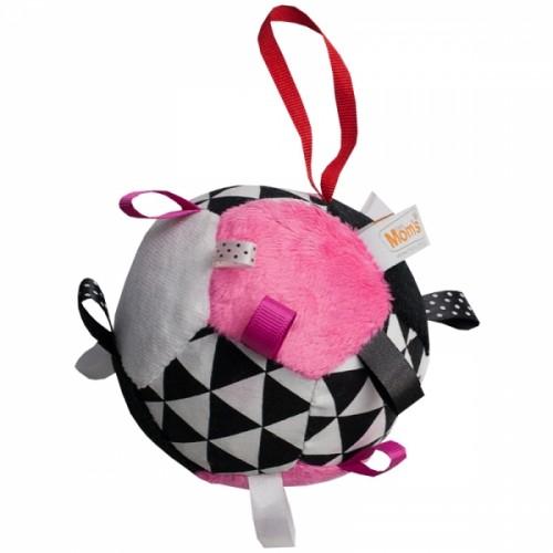 Hencz Toys Plyšový farebný balónik - ružová