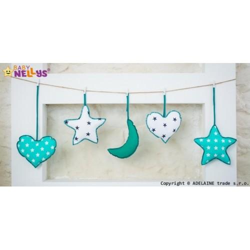Baby Nellys Sada dekorácií Stars be Love č. 5