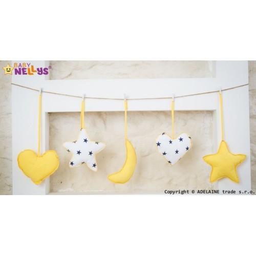 Baby Nellys Sada dekorácií Stars be Love č. 9