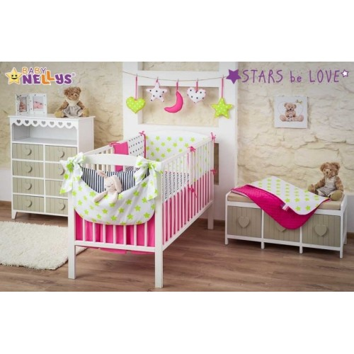 Baby Nellys Mega sada Stars be Love č. 1 - 120x90