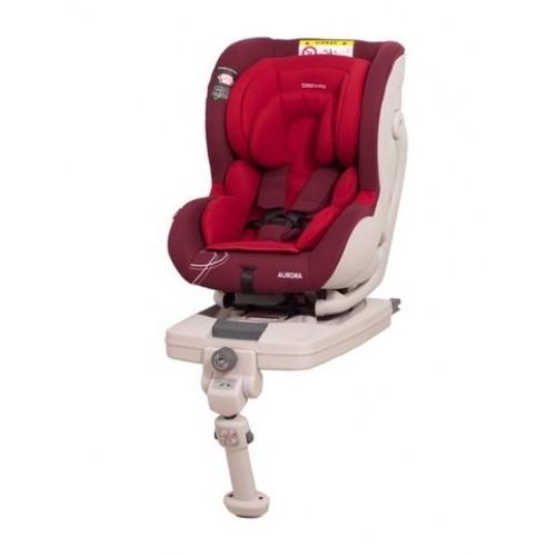 Coto Baby Autosedačka AURORA - 0-18 kg červená