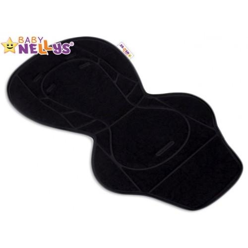 Vložka do kočíka Baby Nellys ® - čierna