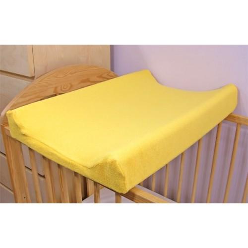 Baby Nellys Jersey poťah na prebaľovaciu podložku žltý