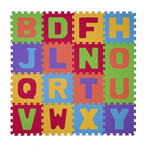 BabyOno Penové puzzle - Písmená - 16ks