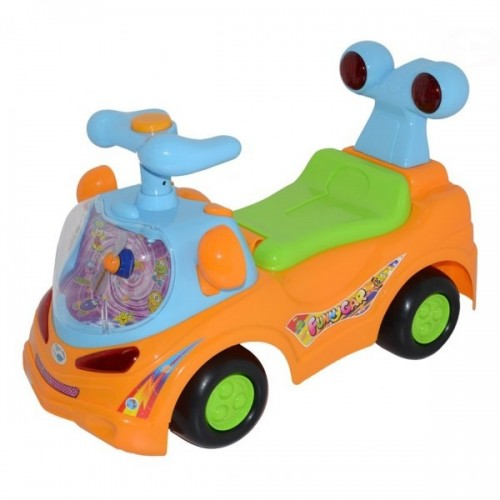Euro Baby Odrážadlo, jezdítko - FUNNY CAR - oranžové