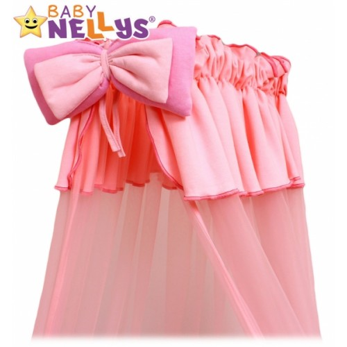 Baby Nellys Nebesá šifón  - ružové