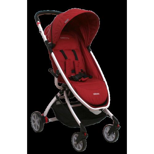 Coto Baby Kočík Verona Červeny - imitácia Ľan
