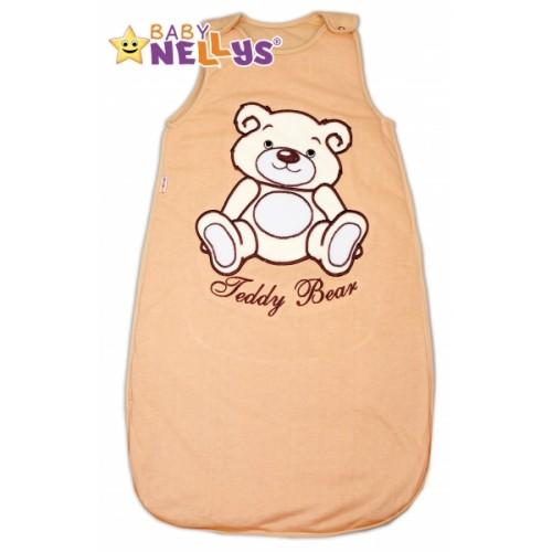 Spací vak Medvedík Teddy Baby Nellys - hnedý vel. 0+