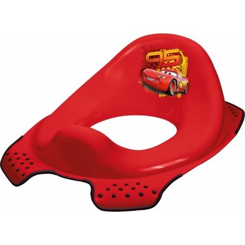 Keeeper Adaptér - tréningové sedádko na toaletu Cars - červený