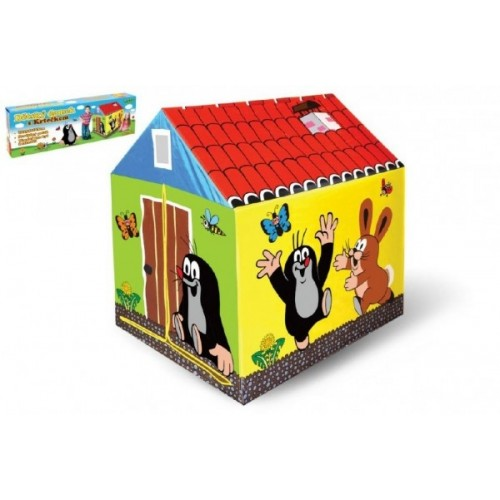 Teddies Domček / stan detský Krtko 95x72x102cm polyester v krabici