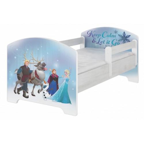 BabyBoo Detská postel Disney - FROZEN, D19 - 160x80
