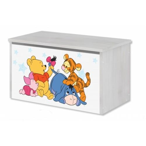 BabyBoo Box na hračky, truhla Disney - Medvedík PÚ Baby, D19