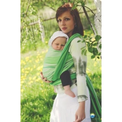 Little FROG Tkaný šatka na nosenie detí -  TSAVORITE - XXL (44)