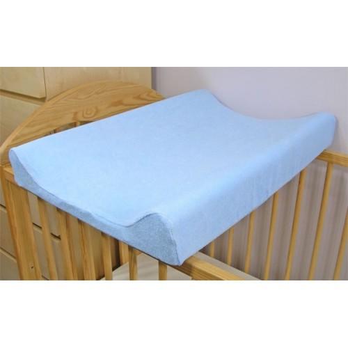 Baby Nellys Jersey poťah na prebaľovaciu podložku modrý