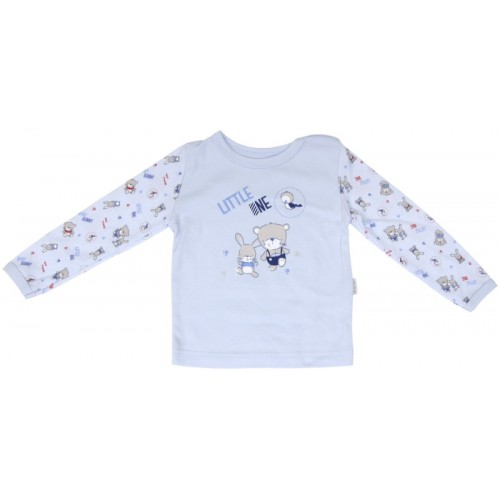Bavlnené pyžamko Mamatti Kamaráti - 74 (6-9m)