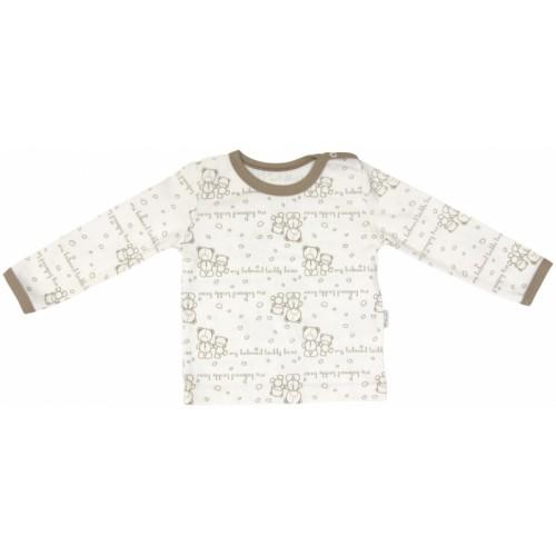 Bavlnené pyžamko Mamatti Baby Bear TEDDY - 74 (6-9m)