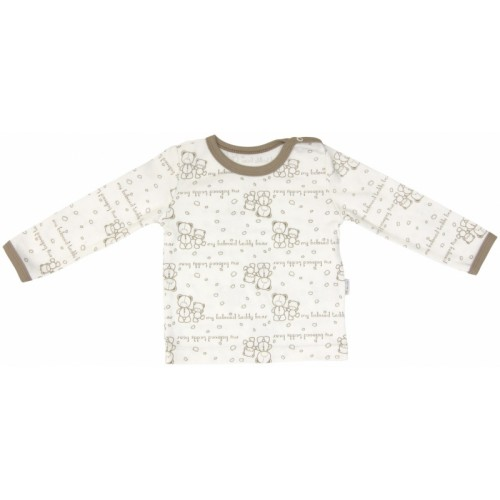 Bavlnené pyžamko Mamatti Baby Bear TEDDY - 80 (9-12m)