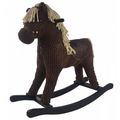 GrandS Hojdací koník Brownie LOVE - hnědý
