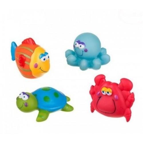 Hračky do vody Akuku - more - 4 ks