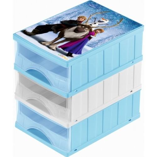 Keeeper Boxy na hračky - zásuvky Frozen