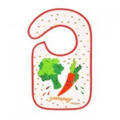 BabyOno Podbradník Flavor EXPLORER - zelenina