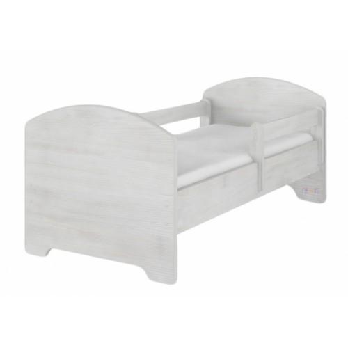 NELLYS Dětská postel SABI v barvě norské borovice + matrac zadarmo, D19 - 140x70