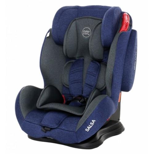 Coto Baby Autosedačka 9-36kg Salsa- Blue / Melange - 2020