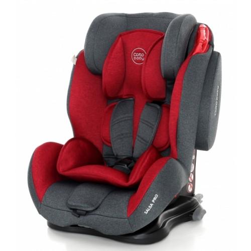 Coto Baby Autosedačka 9-36kg Salsa Isofix- Red / Melange - 2020