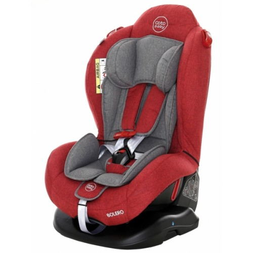 Coto Baby Autosedačka Bolero - 0-25 kg - 2019 Farba: Červená / Sivá
