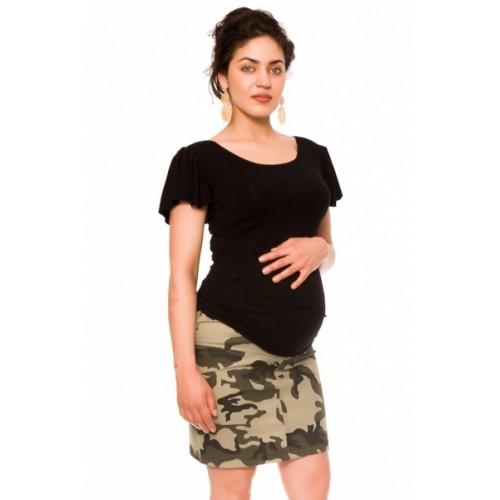 Be MaaMaa Tehotenská sukňa Camo - maskáčová, vel´. XL - XL (42)