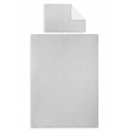 2-dielne obliečky Velvet lux Miminu, prešívané - šedý - 120x90