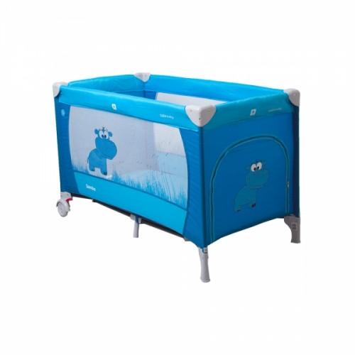 Coto Baby Cestovná postieľka Samba Plus - modrá