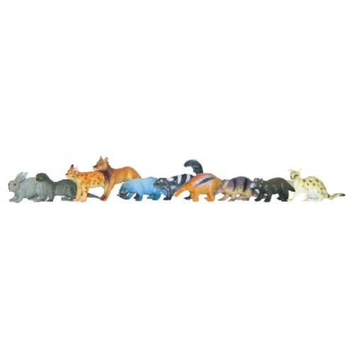 Rappa Zvieratá lesné, 10 ks v sáčku