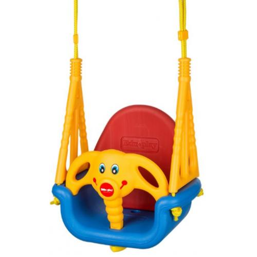 Eco toys Záhradná hojdačka 3v1 - Sloník