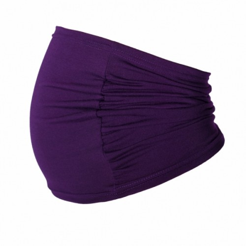 Be MaaMaa Těhotenský pás - fialový, vel´. L/XL - L/XL